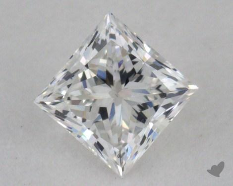 0.42 Carat D-SI1 Ideal Cut Princess Diamond