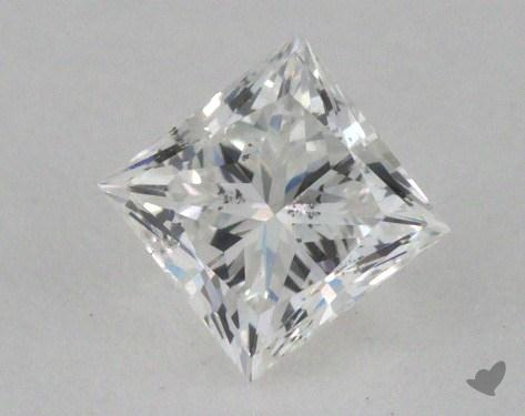 0.45 Carat D-SI1 Ideal Cut Princess Diamond