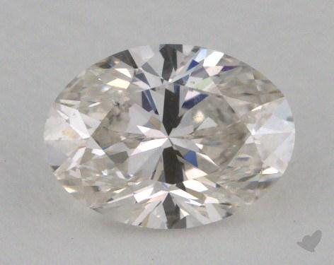 0.91 Carat G-SI1 Oval Cut Diamond