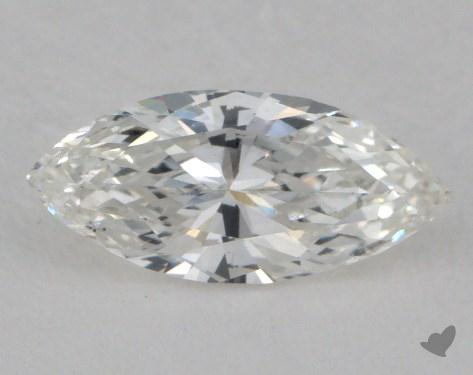 0.54 Carat F-SI1 Marquise Cut Diamond 
