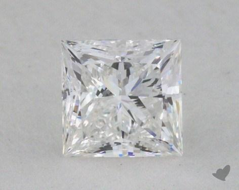 0.52 Carat F-VVS2 Very Good Cut Princess Diamond