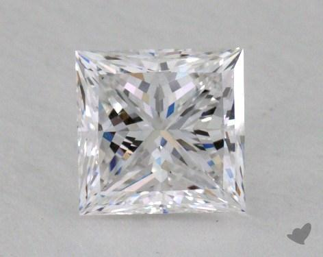 0.70 Carat F-VVS2 Ideal Cut Princess Diamond