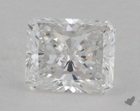 1.07 Carat E-SI1 Radiant Cut Diamond