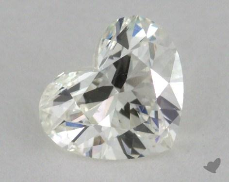 1.14 Carat H-SI2 Heart Cut Diamond