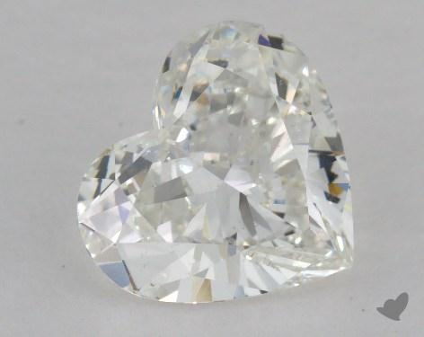 1.74 Carat H-SI1 Heart Cut Diamond