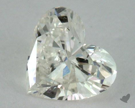 0.83 Carat K-I1 Heart Shape Diamond
