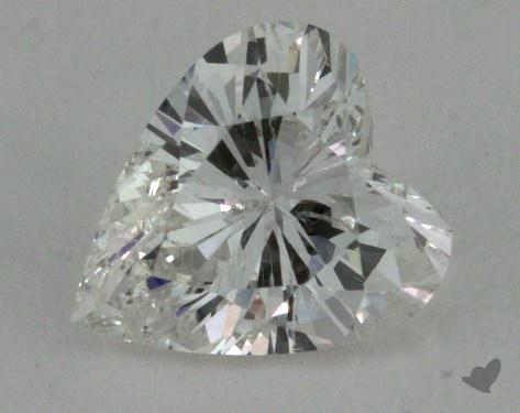 0.78 Carat G-SI2 Heart Cut Diamond