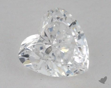 1.71 Carat D-SI1 Heart Shape Diamond