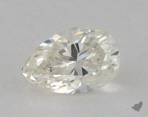 0.87 Carat J-VS2 Pear Shaped  Diamond