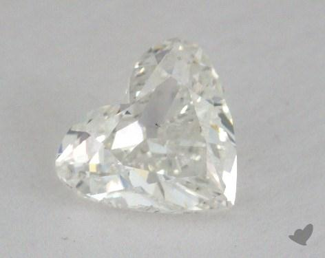 1.00 Carat H-SI1 Heart Cut Diamond