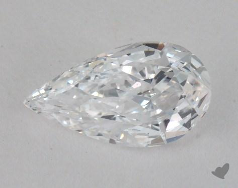 0.90 Carat D-IF Pear Shaped  Diamond