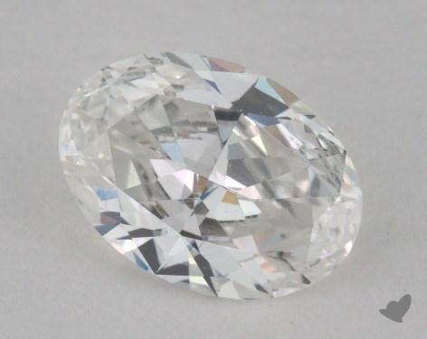 0.70 Carat E-SI2 Oval Cut Diamond