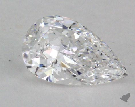 0.50 Carat D-IF Pear Shaped  Diamond