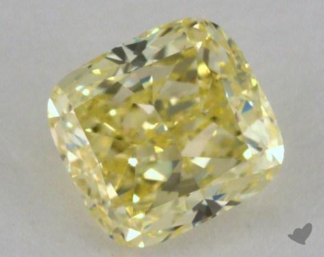 1.18 Carat fancy yellow-IF Cushion Cut Diamond