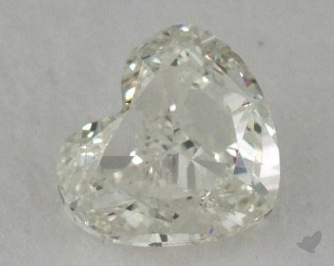 0.70 Carat H-VS2 Heart Cut Diamond