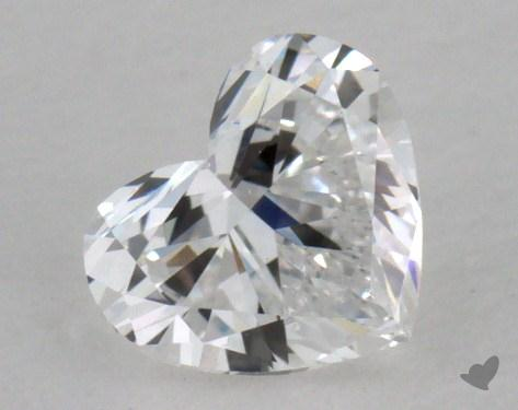 0.34 Carat D-VS1 Heart Cut Diamond 