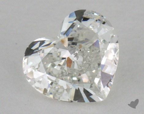 0.46 Carat F-VS2 Heart Shape Diamond
