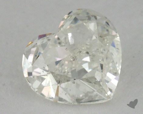 0.70 Carat G-I1 Heart Shape Diamond