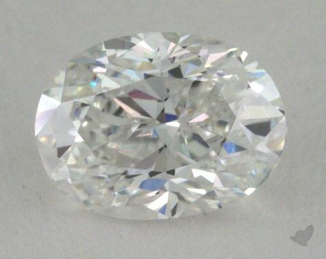 0.73 Carat D-IF Oval Cut Diamond 