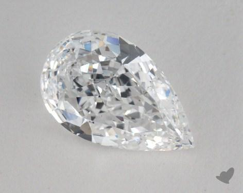 1.71 Carat D-SI2 Pear Cut Diamond