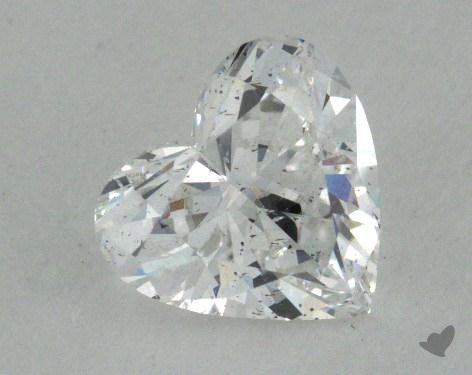 0.53 Carat E-SI2 Heart Shape Diamond
