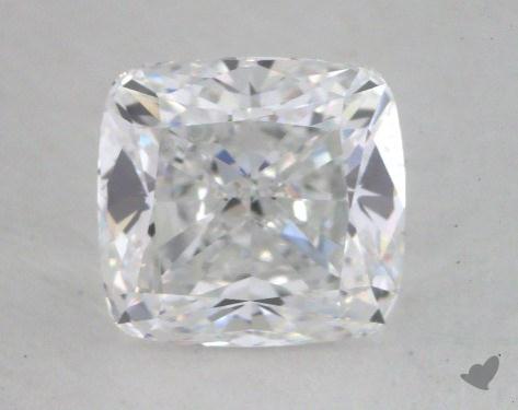 1.26 Carat D-VVS2 Cushion Cut Diamond