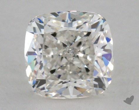 1.33 Carat G-VVS2 Cushion Cut Diamond