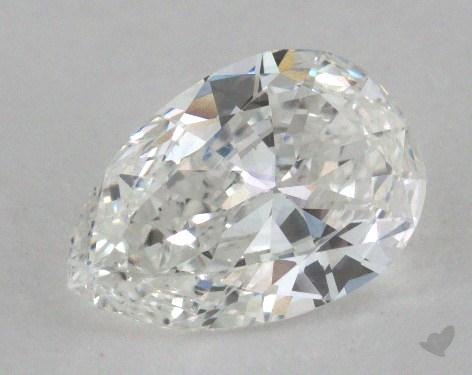 1.44 Carat G-VS1 Pear Shape Diamond
