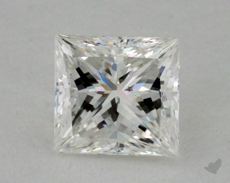 1.00 Carat H-SI1 Princess Cut Diamond