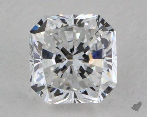 0.53 Carat E-VS2 Radiant Cut Diamond