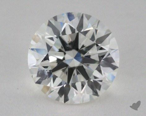 2.46 Carat H-SI2 Excellent Cut Round Diamond