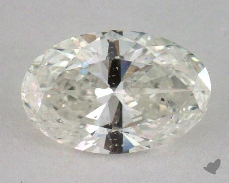 1.00 Carat H-I1 Oval Cut Diamond