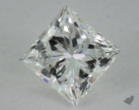 0.54 Carat F-VVS1 Ideal Cut Princess Diamond