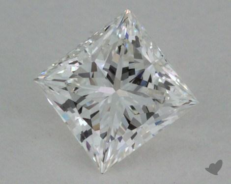 0.56 Carat G-VVS2 Ideal Cut Princess Diamond