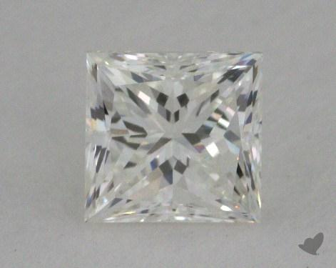 0.59 Carat H-VS2 Princess Cut  Diamond