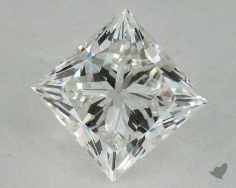 0.77 Carat H-VS1 Ideal Cut Princess Diamond