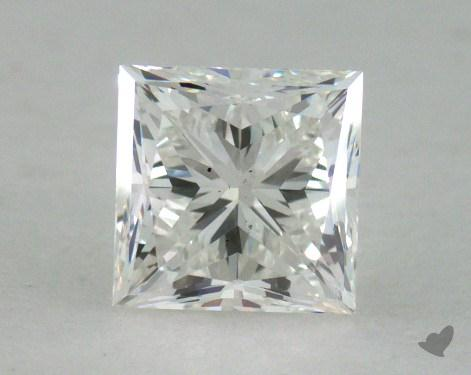 0.74 Carat H-VS2 Very Good Cut Princess Diamond