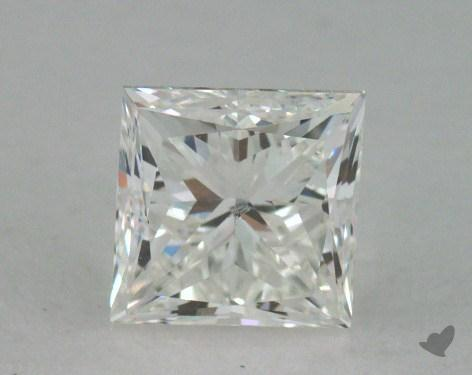 0.73 Carat H-SI2 Princess Cut  Diamond