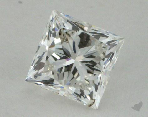 0.74 Carat G-SI1 Princess Cut Diamond