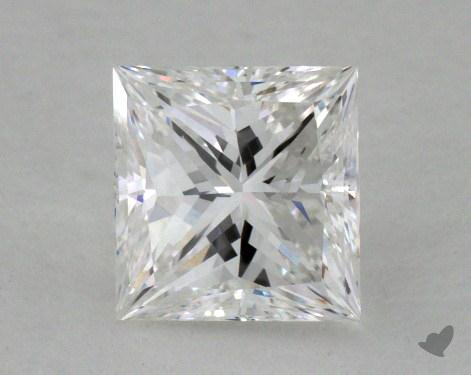 0.82 Carat F-VS1 Ideal Cut Princess Diamond