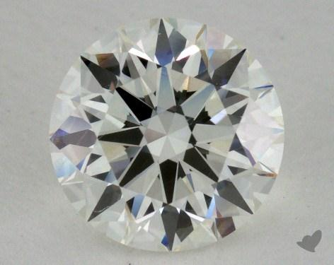 1.52 Carat H-SI1 Excellent Cut Round Diamond