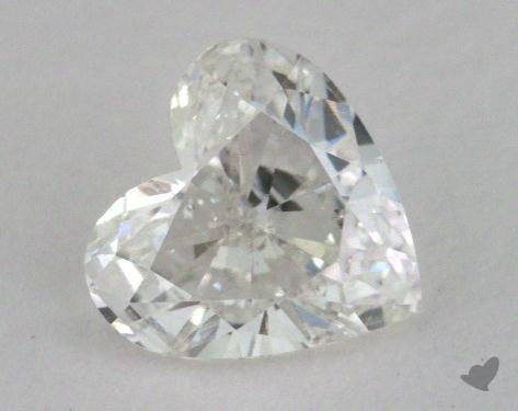 1.01 Carat I-SI2 Heart Cut Diamond