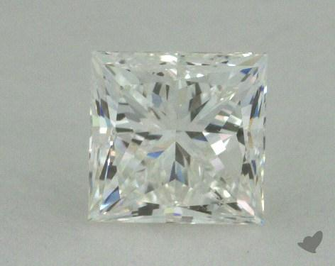 0.74 Carat H-SI2 Ideal Cut Princess Diamond