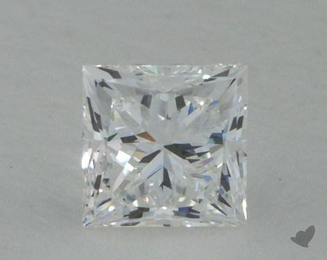 0.83 Carat F-SI1 Very Good Cut Princess Diamond
