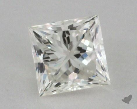 0.83 Carat I-VS1 Ideal Cut Princess Diamond