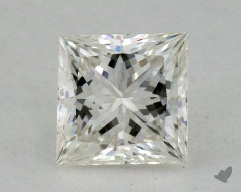 0.52 Carat J-VS2 Very Good Cut Princess Diamond