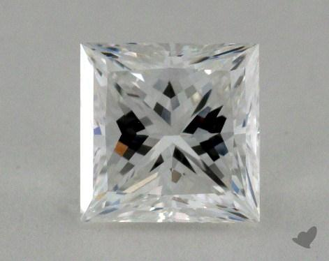 1.08 Carat E-SI2 Ideal Cut Princess Diamond