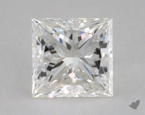 2.22 Carat F-VS2 Princess Cut  Diamond
