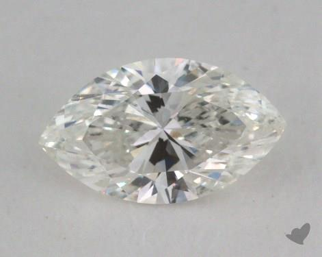 0.53 Carat H-SI1 Marquise Cut Diamond