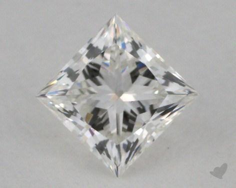 0.48 Carat E-VS1 Ideal Cut Princess Diamond